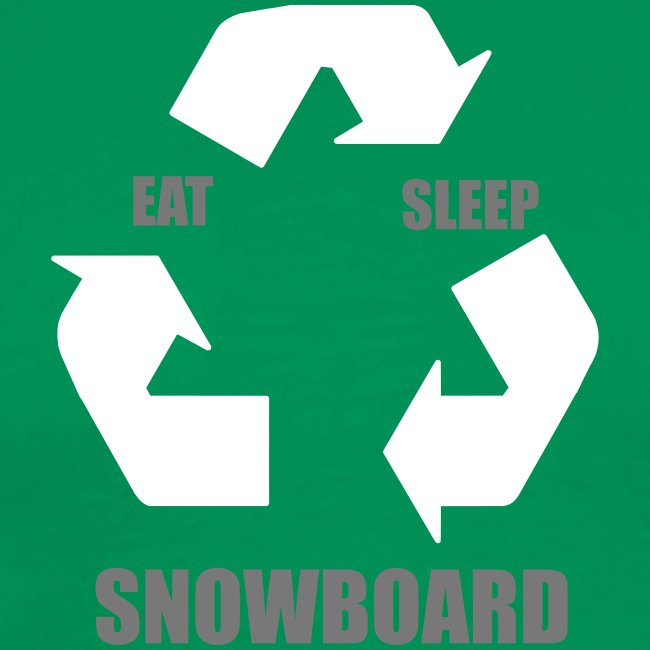 eatsleepsnowboard greenarrows