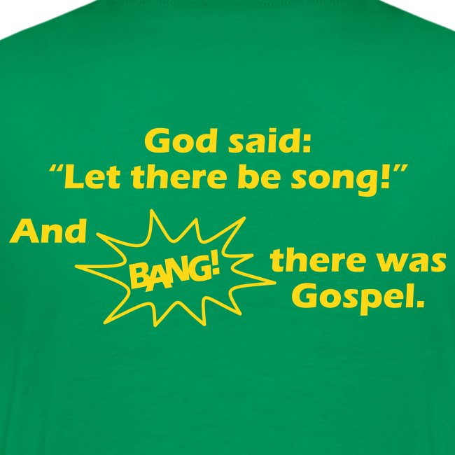 let there be song