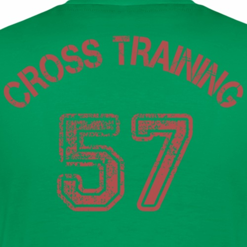 03 - Visuel dos - Cross training 57 - T-shirt Premium Homme