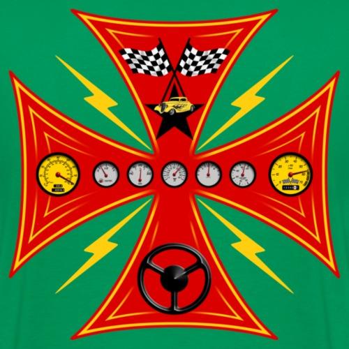 racing_cross - Men's Premium T-Shirt