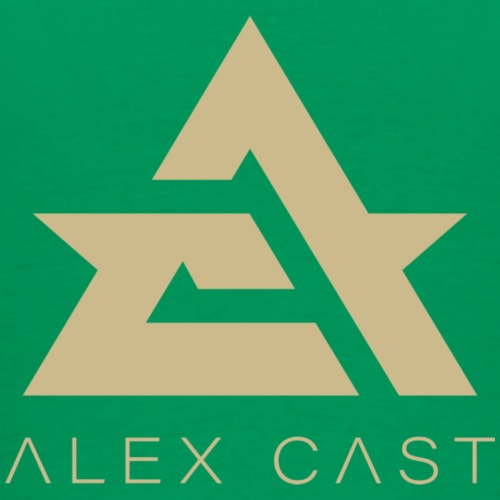 Alex Cast Iso Virallinen Logo Design 1 - Miesten premium t-paita