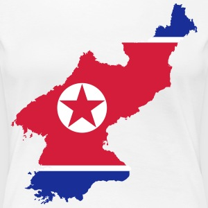 North Korea - Women's Premium T-Shirt
