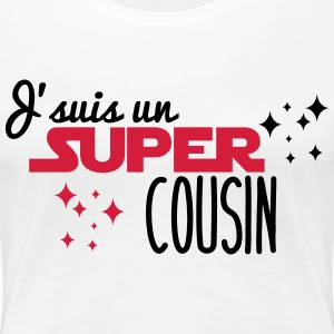 I'm a super cousin - Women's Premium T-Shirt