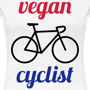 vegan cyclist - Frauen Premium T-Shirt