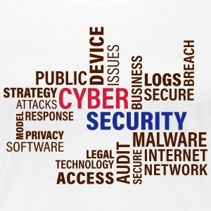 Cyber ​​Security - Premium-T-shirt dam