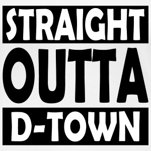 Straight Outta D-Town - Women's Premium T-Shirt