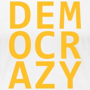 DEMO CRAZY V2 - Women's Premium T-Shirt