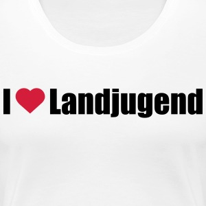 i love Landjugend - Frauen Premium T-Shirt
