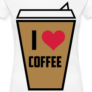 I love coffee 3 - Women's Premium T-Shirt