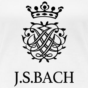 J S Bach and his Seal - Women's Premium T-Shirt