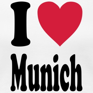 I love Munich - Women's Premium T-Shirt