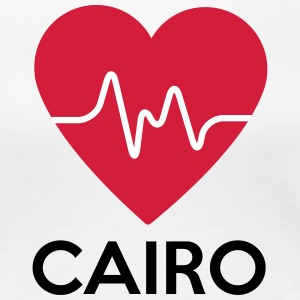 heart Cairo - Women's Premium T-Shirt