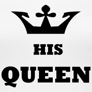 His_Queen Kungaparet - Premium-T-shirt dam