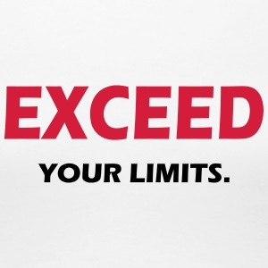 EXCEED YOUR LIMITS - SIMPLE - Women's Premium T-Shirt