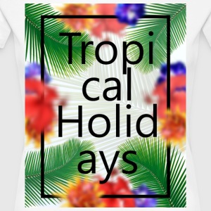 Tropical Holidays - Women's Premium T-Shirt