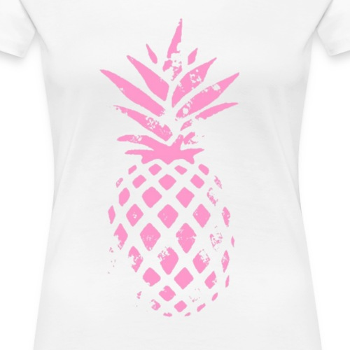ananas rose - T-shirt Premium Femme