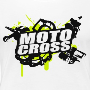 Motocross Supermoto Enduro Vol.I g/b - Frauen Premium T-Shirt