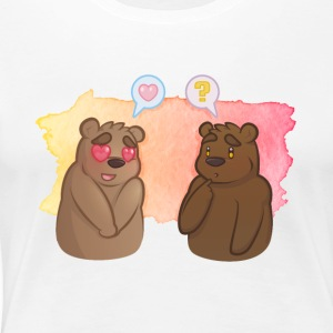 Bear Crush - Vrouwen Premium T-shirt