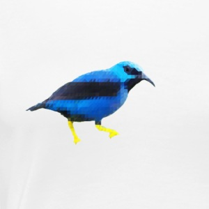 Low Poly BlueBird - T-shirt Premium Femme