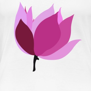 Lotus - Frauen Premium T-Shirt