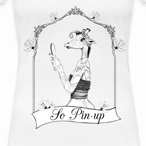 girafe pin-up - T-shirt Premium Femme