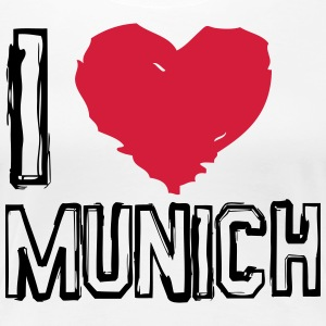 I LOVE MUNICH! - Frauen Premium T-Shirt