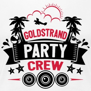 Goldstrand Party Crew - Frauen Premium T-Shirt
