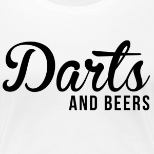 Darts and beers - Women's Premium T-Shirt
