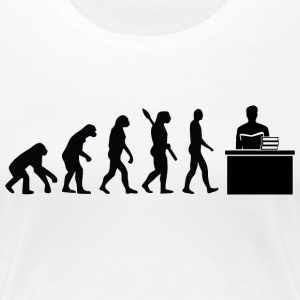 Evolution Erzieher Erziehung Black - Frauen Premium T-Shirt