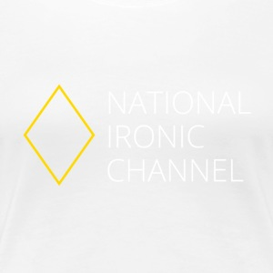 Ironisk National Channel - langærmet T-shirt - Dame premium T-shirt