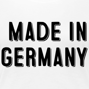 Made in Germany - Dame premium T-shirt