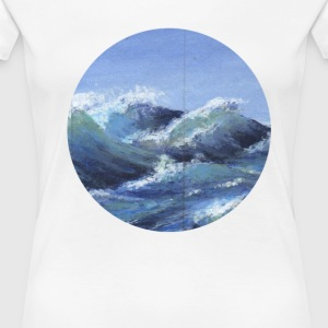 the sea - Women's Premium T-Shirt