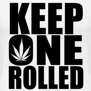 Keep One Rolled Black - Women's Premium T-Shirt
