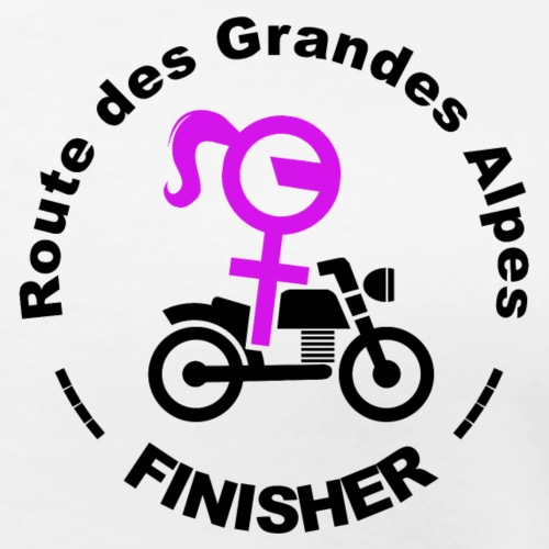 route des Grandes Alpes finisher girl - T-shirt Premium Femme