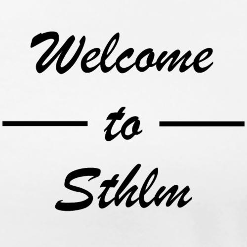 Logo Sthlm - Premium-T-shirt dam