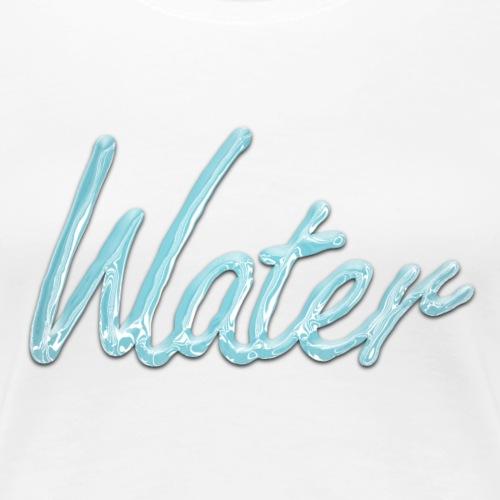 Wasser - Frauen Premium T-Shirt