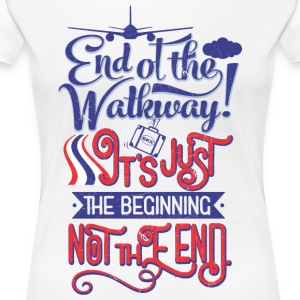 Bangkok Airport End of the Walkway - T-shirt Premium Femme