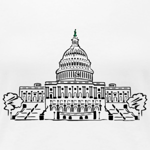 Capitol Washington - Premium-T-shirt dam