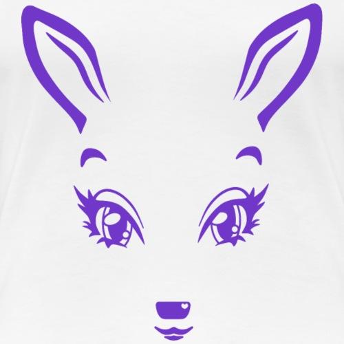 Kikykitz lila - Frauen Premium T-Shirt