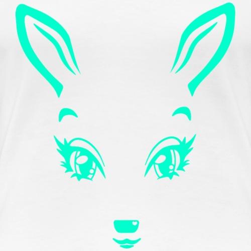 Kikykitz green - Frauen Premium T-Shirt
