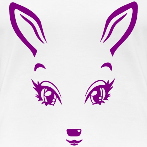 Kikykitz magenta - Frauen Premium T-Shirt