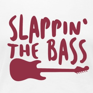 Slappin The Bass - Music - Women's Premium T-Shirt