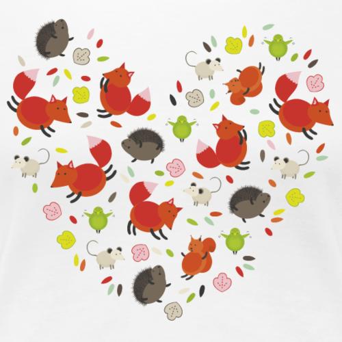 Metikössä - Naisten premium t-paita