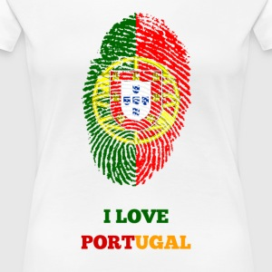 I LOVE PORTUGAL - Women's Premium T-Shirt