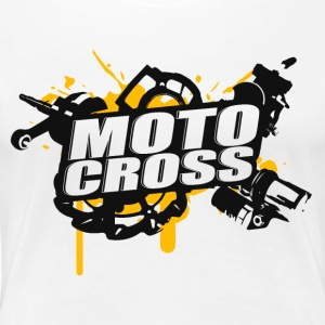 Motocross Supermoto Enduro Vol.I - T-shirt Premium Femme