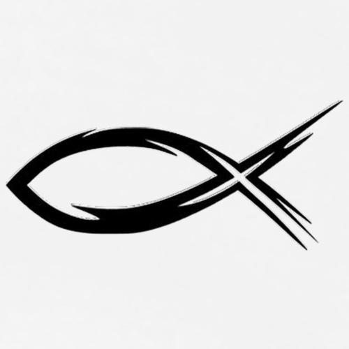 Ichtus - Christianisme - T-shirt Premium Femme