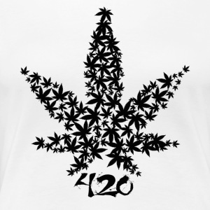 420 Leaf - Women's Premium T-Shirt