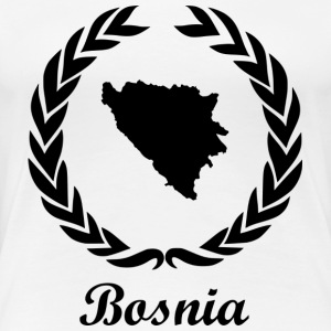 Connectez ExYu Shirt « Bosnie » - T-shirt Premium Femme