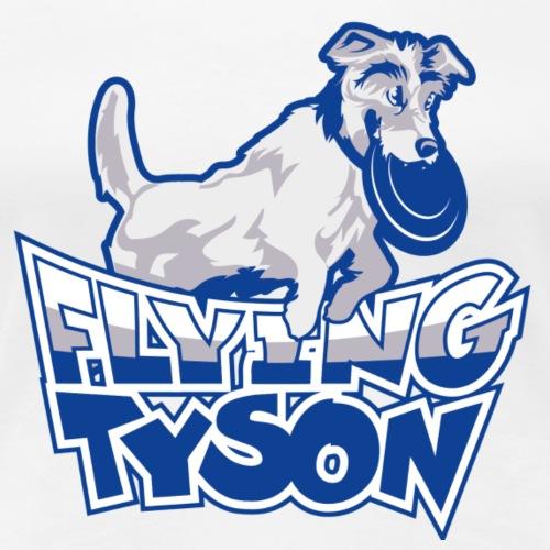 Flying Tyson Mug - Women's Premium T-Shirt