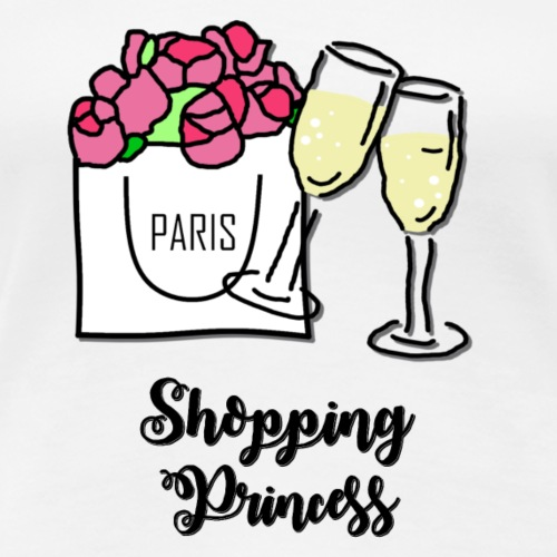 Shopping Princess - Frauen Premium T-Shirt